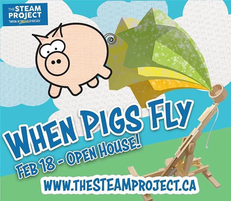 When Pigs Fly – Family Day Open House