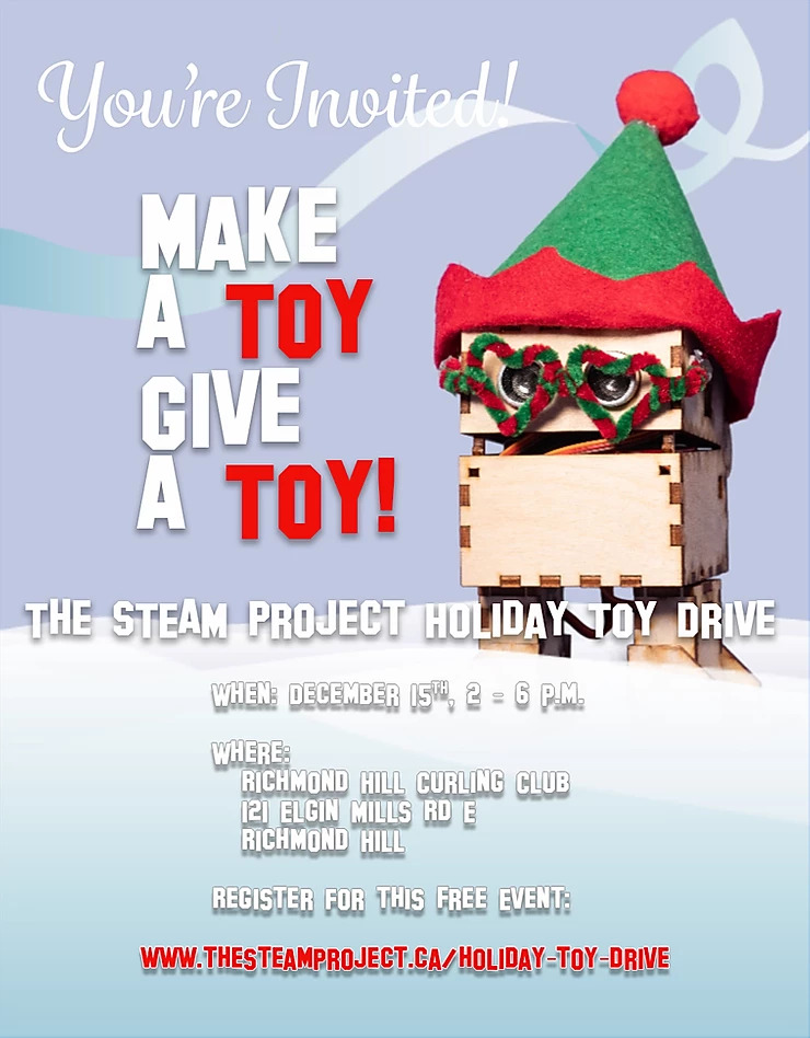 Make A Toy, Give A Toy – Holiday Toy Drive